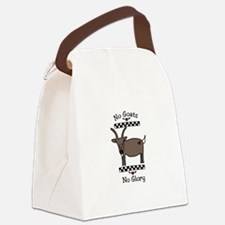 No Goats No Glory Canvas Lunch Bag
