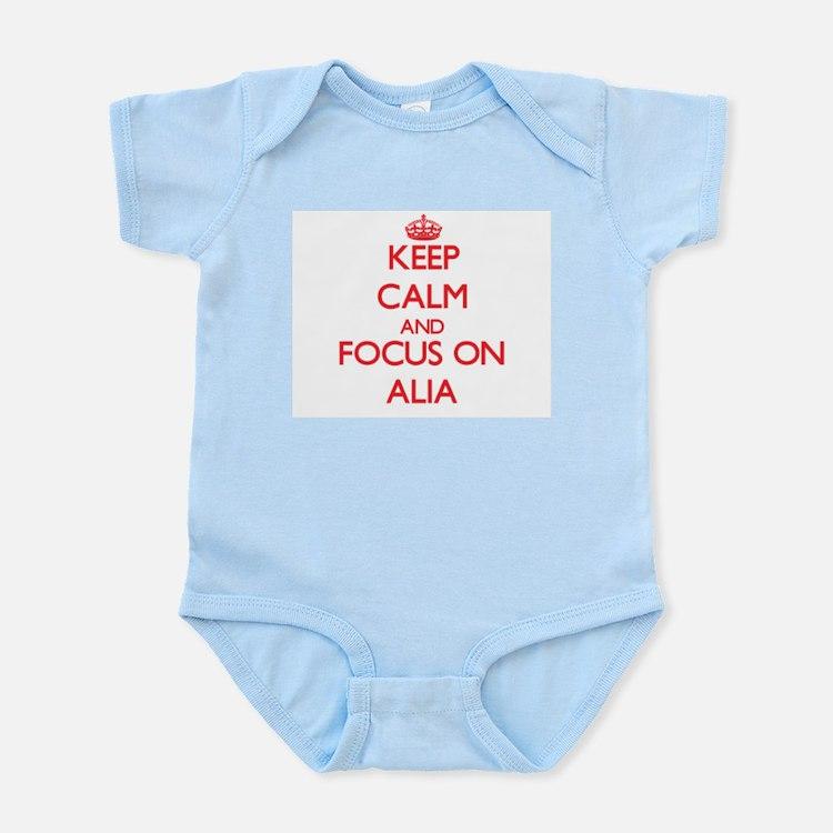 Keep Calm and focus on Alia Body Suit