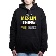 Merlin Women's Hooded Sweatshirt
