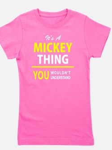 Funny Mickey Girl's Tee