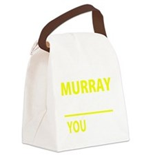 Cute Murray Canvas Lunch Bag