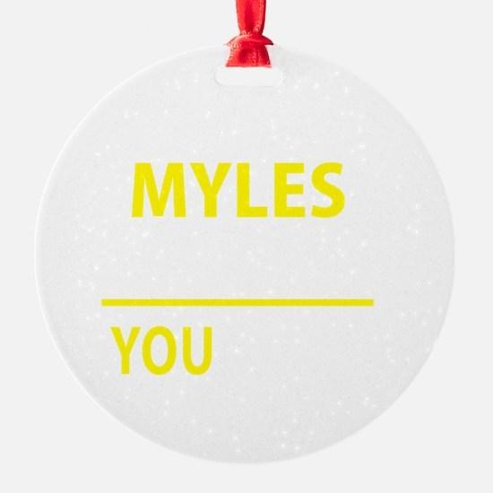 Cute Myles Ornament