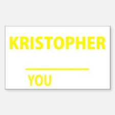 Cute Kristopher Decal