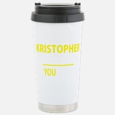 Cute Kristopher Travel Mug