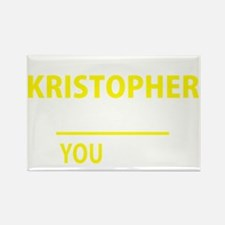 Cute Kristopher Rectangle Magnet