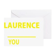 Cute Laurence Greeting Card