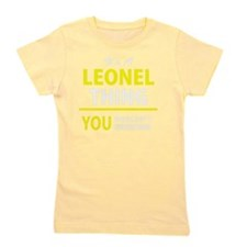 Unique Leonel Girl's Tee