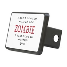 Outrun The Zombie 3 Hitch Cover
