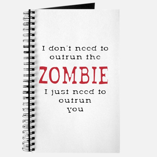 Outrun The Zombie 3 Journal
