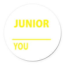 Cute Junior Round Car Magnet