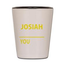 Unique Josiah Shot Glass