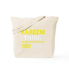 Unique Kareem Tote Bag