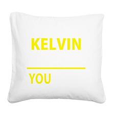 Cute Kelvin Square Canvas Pillow