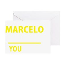 Unique Marcelo Greeting Card