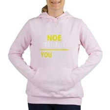 Cute Noe Women's Hooded Sweatshirt