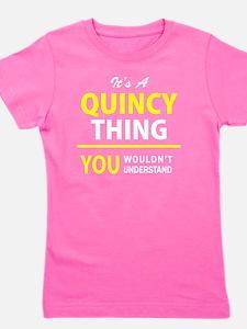 Unique Quincy Girl's Tee
