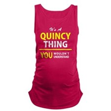 Cute Quincy Maternity Tank Top