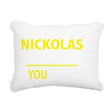 Cool Nickolas Rectangular Canvas Pillow