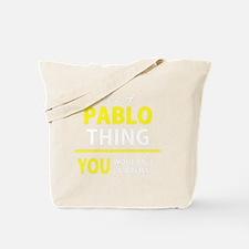 Cute Pablo Tote Bag