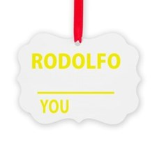 Cute Rodolfo Ornament