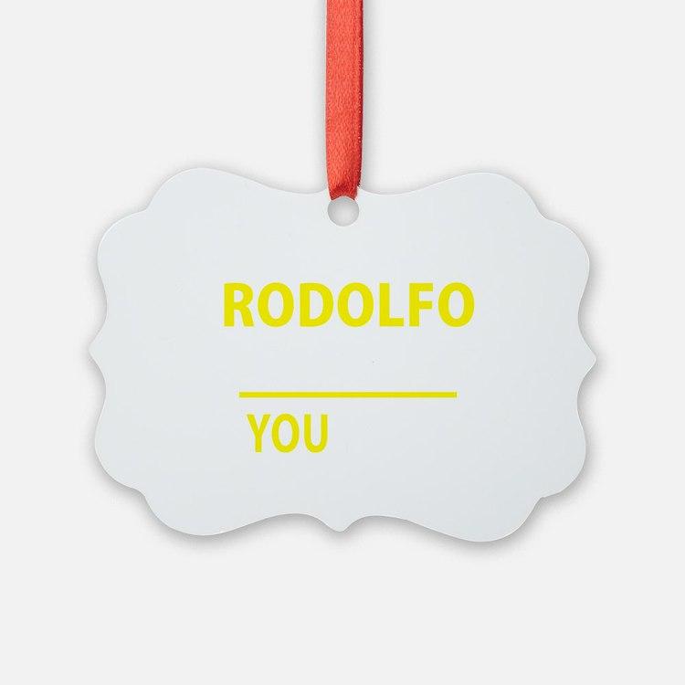 Cute Rodolfo Ornament