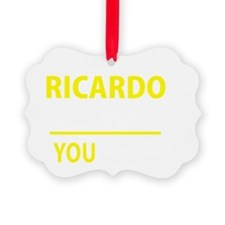 Funny Ricardo Ornament