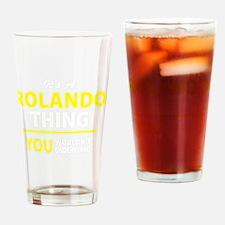 Unique Rolando Drinking Glass