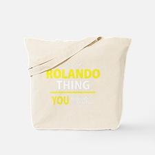 Unique Rolando Tote Bag