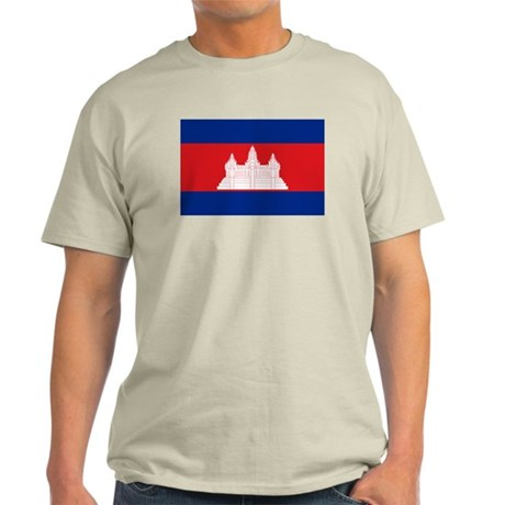 flag of Cambodia Light T-Shirt