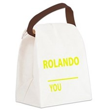 Cute Rolando Canvas Lunch Bag