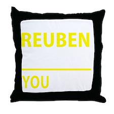 Unique Reuben Throw Pillow