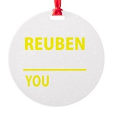 Cute Reuben Ornament