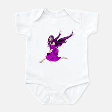 Purple fairy Infant Bodysuit