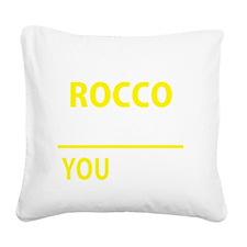 Rocco Square Canvas Pillow