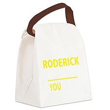 Cute Roderick Canvas Lunch Bag