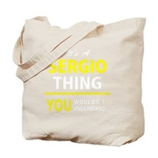 Cute Sergio Tote Bag