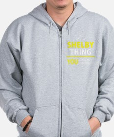 Shelby Zipped Hoody