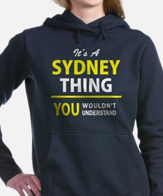 Funny Sydney Women's Hooded Sweatshirt