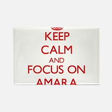 Keep Calm and focus on Amara Magnets