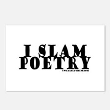 I Slam Poetry Postcards (Package of 8)