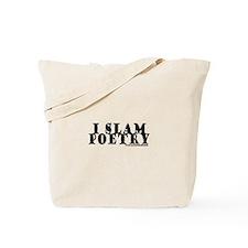 I Slam Poetry Tote Bag