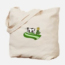 Dairy Farm Cow Cattle Country Tote Bag