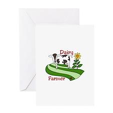 Dairy Farmer Greeting Cards