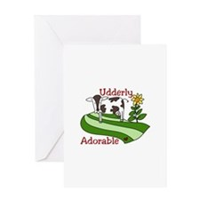 Udderly Adorable Greeting Cards