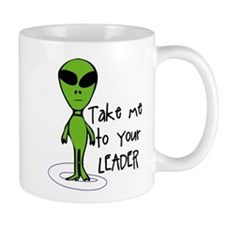Take me to your LEADER Mugs