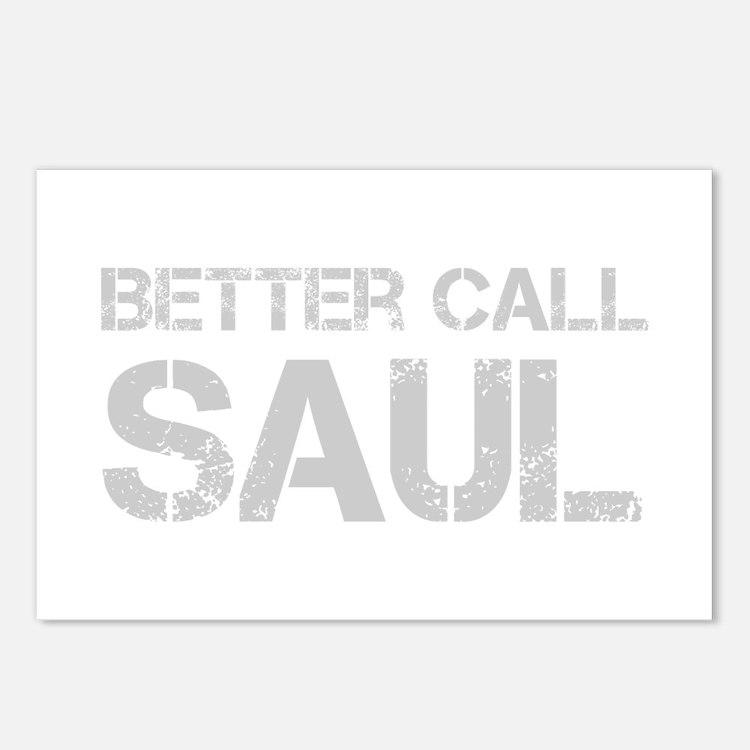 better-call-saul-cap-light-gray Postcards (Package