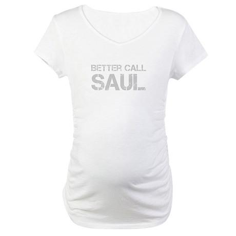 better-call-saul-cap-light-gray Maternity T-Shirt