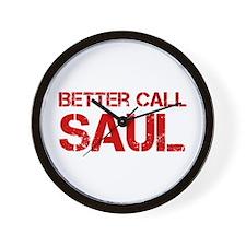 better-call-saul-cap-red Wall Clock
