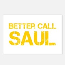 better-call-saul-cap-yellow Postcards (Package of