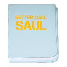 better-call-saul-cap-yellow baby blanket